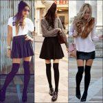 Dizüstü Çorap Modası