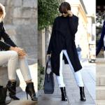 Sonbahar Kış Modası ve Beyaz Pantolon