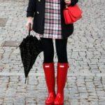 2019 Kış Stili Sonbahar Yağmur Botları