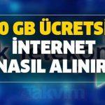 10 GB İnternet Nasıl Alınır?